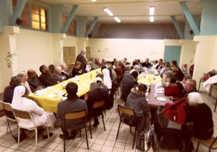 2016 Nov 15 repas avec l` évêque