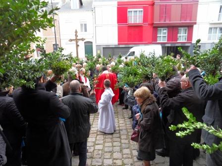2016 Rameaux benedidtion du buis