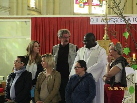 2016 ascension engagement de tois jeunes femmes vers le baptême