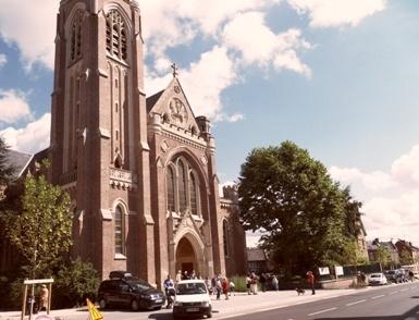 2017 aout 6 Eglise Ste Jeanne d`Arc sortie