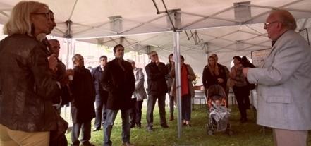 2017 sept patrimonine St Honoré historien