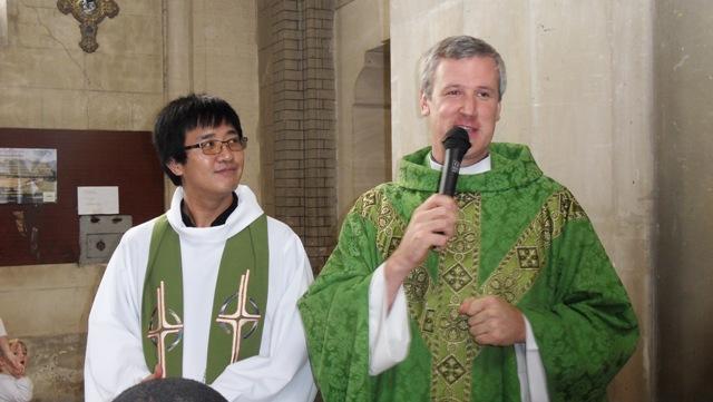 prêtres paroisse