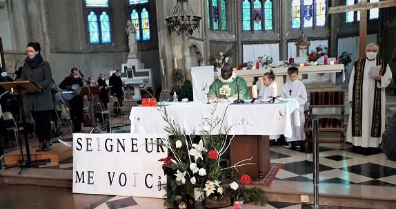 messe des familles abbé Marcellin et Dullin